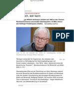 2012 Wilhelm Heitmeyer - Studie zur Desintegration