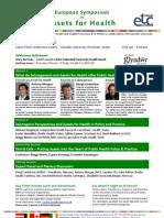 European Symposium on Assets for Health