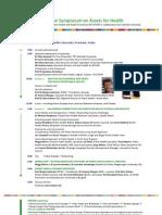 European Symposium on Assets for Health programme