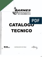 Barnes de Colombia Catalogo Tecnico