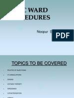 Basic Ward Procedures