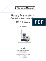 IKA RV 10 Service Manual