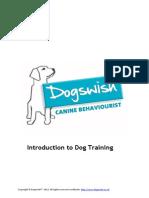 Introduction Dog Training
