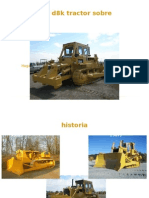 Caterpillar d8k Tractor Sobre Orugas