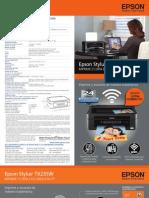 Manual de Epson Stylus TX235W - 02