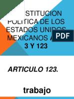 Articulo 123 y 3 Nely Exposicion