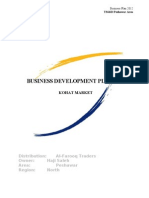 Business Development Plan Kohat 2012