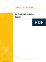 SV Total RNA Isolation System Protocol