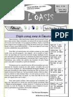 Journal Oasis Numéro 26