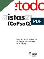 Metodo Istas21 Para La Evaluacion de Riesgos Psicosociales