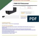Plustek Optifilm 7600I SE Filmscanner