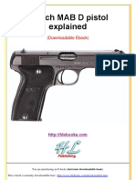 French MAB D Pistol Explained