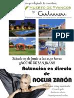 Gran fiesta de San Juan en Huerto de Yvancos