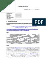 Formulario Informe de Titulos (Clls 5.9)