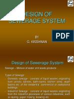 Design of Sewerage System