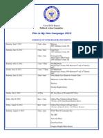 DC NAACP Voter Registration Events Calendar - June 6 2012