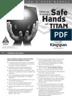 Titan Environmental Domestic Oil Tank Installation Guide