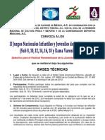 II Juegos Nacionales Infantiles y Juveniles de La FENAMAC 2012 ...