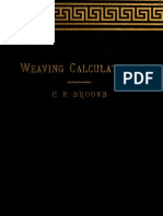 Weaving Calcula t i 00 Broo