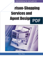 Compararison-Shoping Services and Agent Design