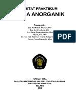 Diktat Praktikum Kimia Anorganik-2012