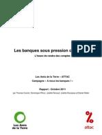 Attac - Rapport Sur Les Banques
