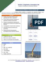 Içamento Offshore, Heavy Lift, Plano de Rigging e Treinamentos
