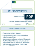 SIP Forum IETF 77 Overview