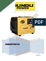 Kde6700ta Manual