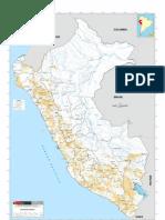 Mapa de las Concesiones Mineras en el Perú