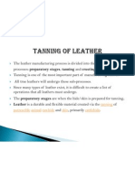 Tanning of Leather Final