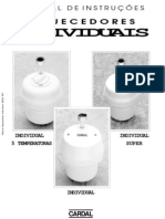 Manual Aquecedores Individuais IM232 R07