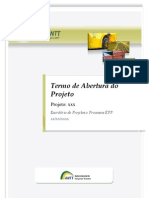 Epp Modelo Termo de Abertura de Projeto