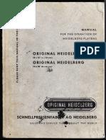 Heidelberg 10x15 Manual
