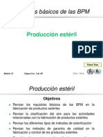 Aspectos Generales de GMP en Inyectables