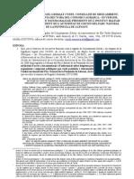 """Reiteracio """"Instància de sol·licitud al Conseller de Medi Ambient de les factures i despeses efectuades al PNL 031008b (Núm. Reg. entrada 18752/2008)"""" 050109"""