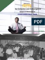 COMPANIES BILL 2008 - A SNAPSHOT