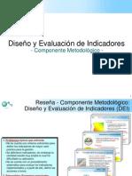 DISEÑO Y EVALUACIÓN DE INDICADORES