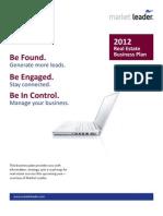 2012BusinessPlan Compliments of MarketLeader