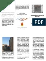 Arquitectura Tradicional y Urbanismo Rural