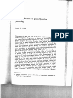 Reconsideration of Proto-Quechua phonology (1970)