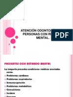 ATENCIÓN ODONTOLÓGICA A PERSONAS CON RETARDO MENTAL