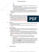 NCA Foundations of Law Outline 2012