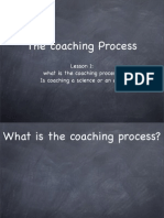 Coaching Process Lesson 1- Overview