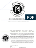 Neighbourhood Summit Program