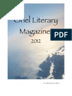 2012 Oriel Literary Magazine