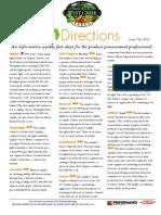 Fresh Directions 6-7-12