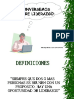 Liderazgo Power Point