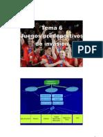 JUEGOS PREDEPORTIVOS D. INVASIÓN