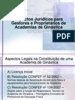 Aspectos Jurídicos para Gestores e Proprietários de Academias